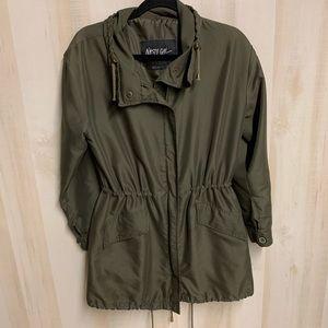 EUC Nasty Gal Utility Olive Green Jacket Size S